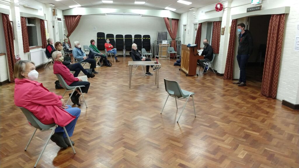 29 October 2020 - Distanced Rehearsal